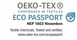 DGink ECO Passport Oekotex Logo