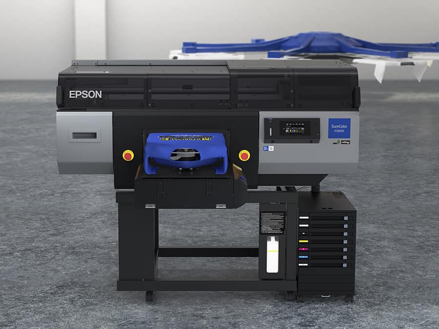 EPSON SC-F3000 front