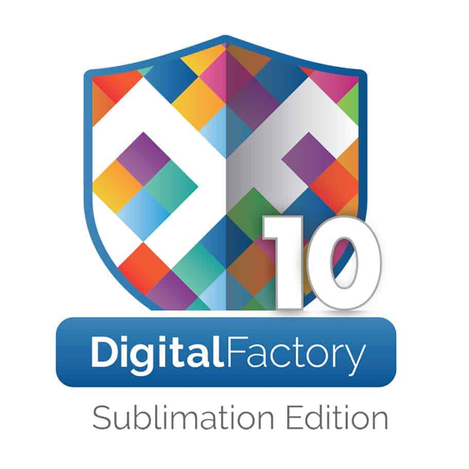 CADlink DigitalFactory10 Sublimation 1x1