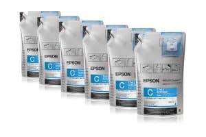 Epson Tinte cyan SC-F Serie C13T741200